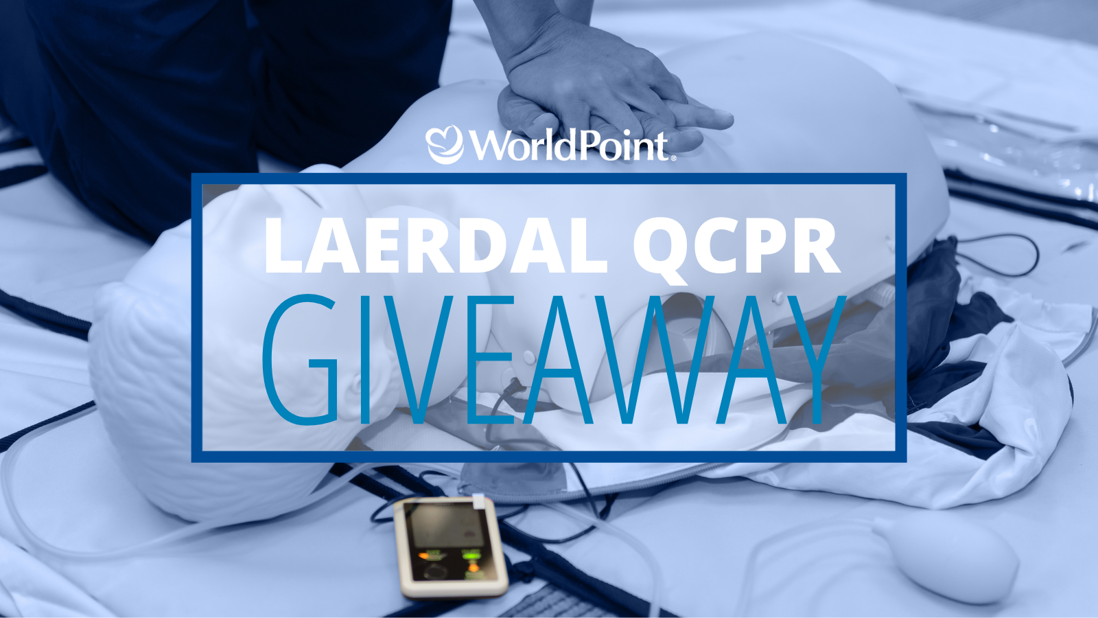 Laerdal QCPR Giveaway: Enter to WIN!